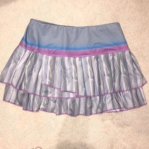 Lucky in love tennis skirt size small